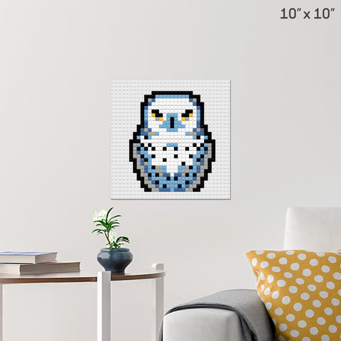 Harry Potter Hedwig Brick Poster