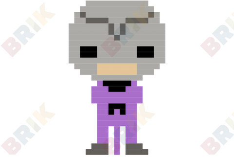 Hawk Moth Pixel Art