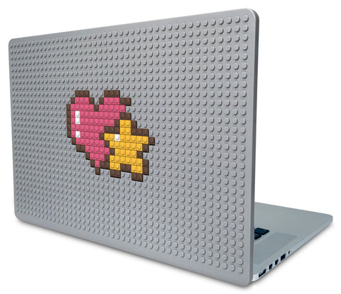 Heart and Star Laptop Case