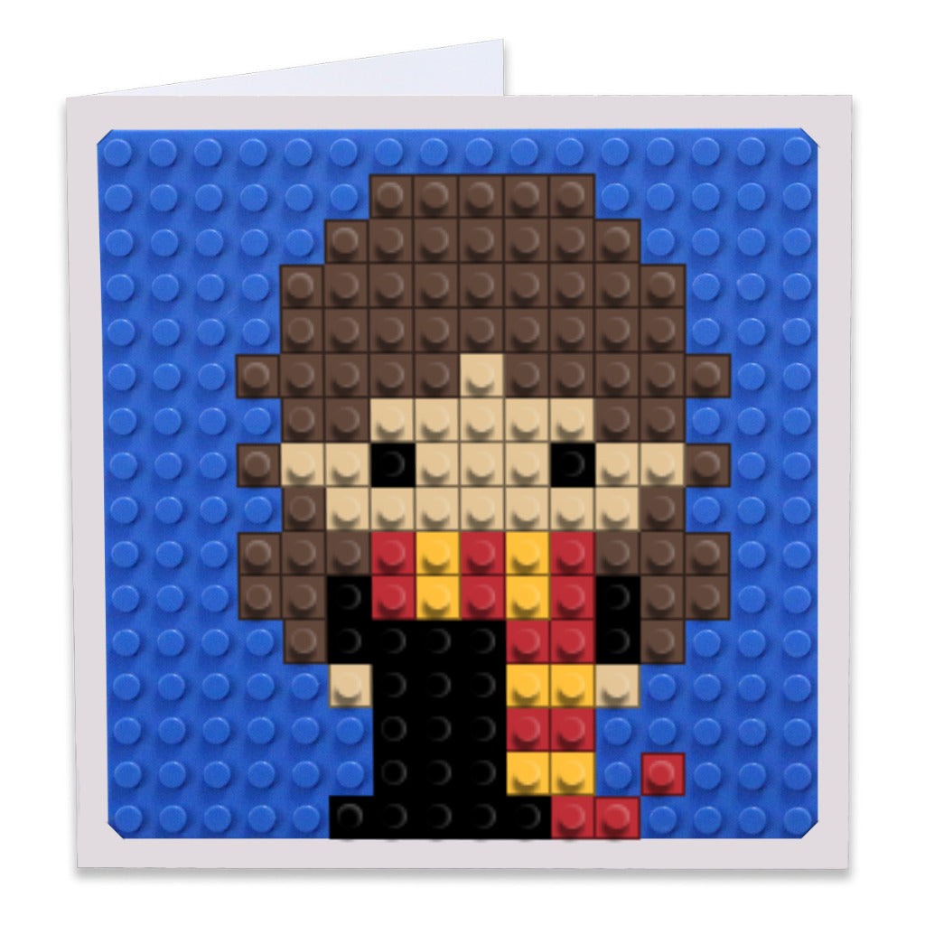 Hermione Granger Pixel Art Build On Gree