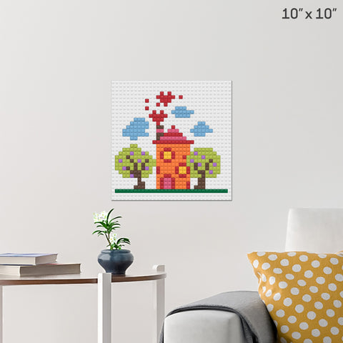 Home Sweet Home Brick Poster