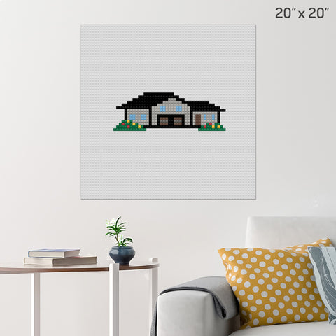 House Brick Poster
