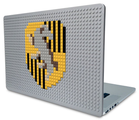Hufflepuff Crest Laptop Case