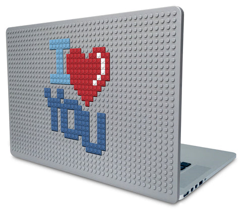 I Love You Laptop Case