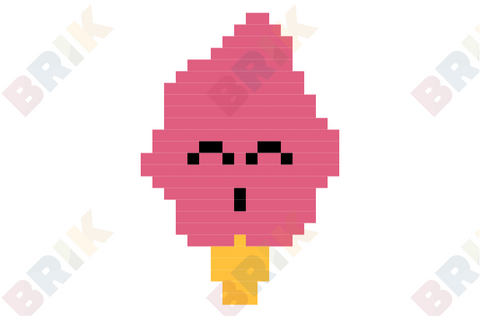 Ice Cream Day Pixel Art