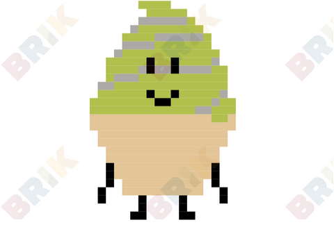 Ice Cream Pixel Art