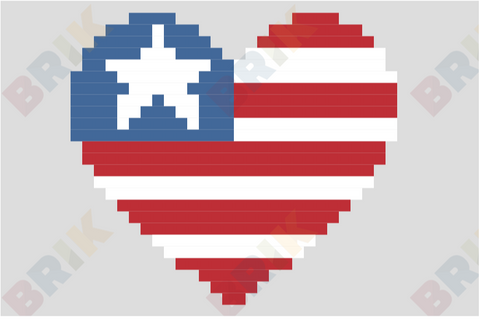 Independence Day Pixel Art