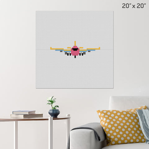 International Civil Aviation Day Brick Poster