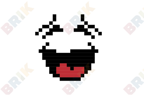 International Moment of Laughter Day Pixel Art