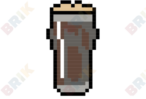 International Stout Day Pixel Art