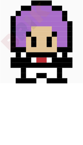 James Pixel Art