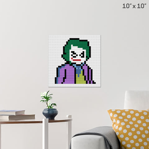 Joker Batman Brick Poster
