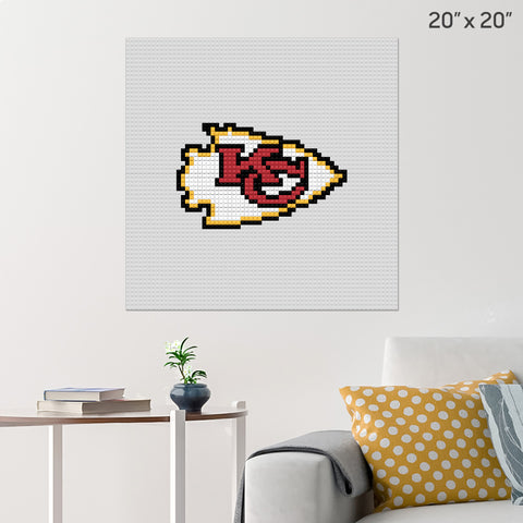 Kansas City Chiefs Brick Poster