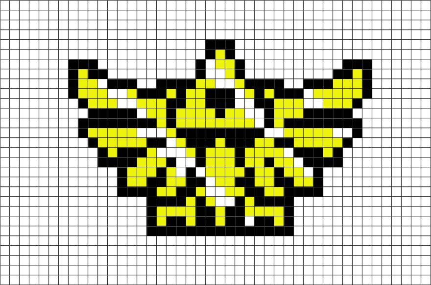 Legend Of Zelda Triforce Pixel Art Brik