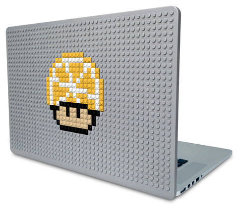 Lemon Mario Mushroom Laptop Case