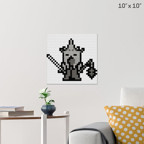Lord Of The Rings Witch-king of Angmar Brick Poster