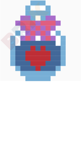 Love Potion Pixel Art