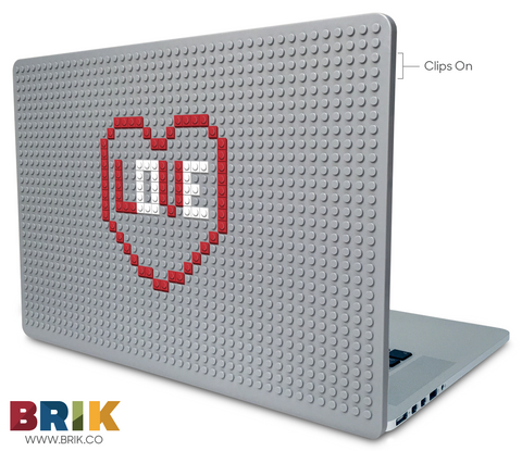 Love with Heart Laptop Case