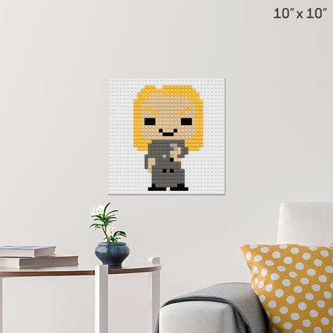 Lucius Malfoy Brick Poster