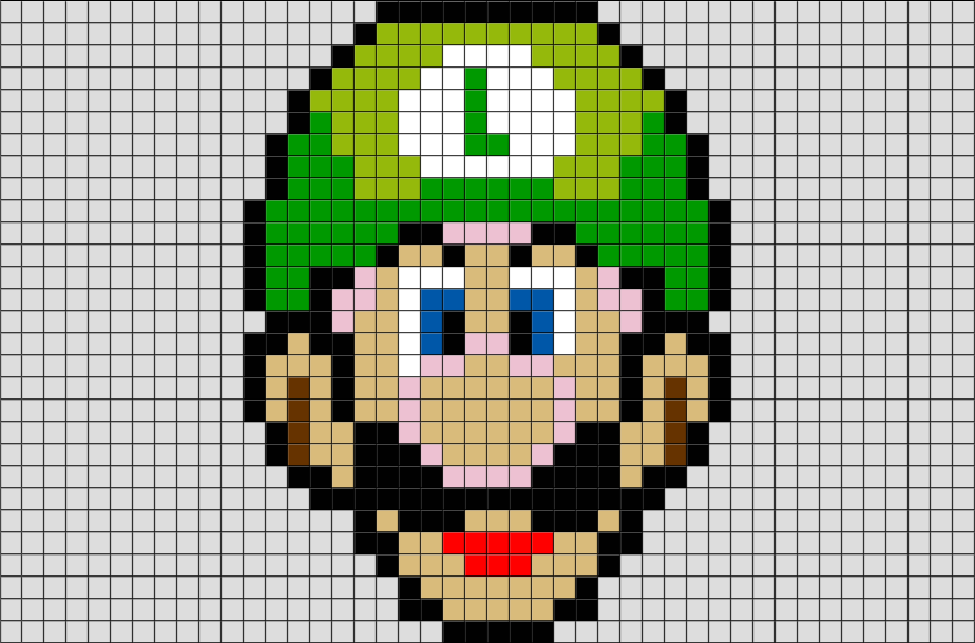 Photo De Pixel Art Mario
