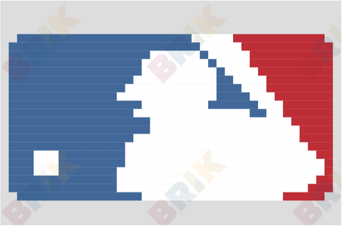 Major League Baseball Pixel Art