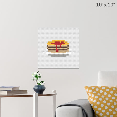 Maple Syrup Brick Poster