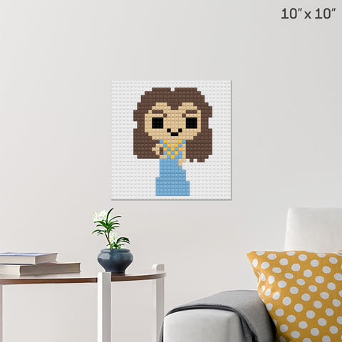 Margaery of House Tyrell Brick Poster