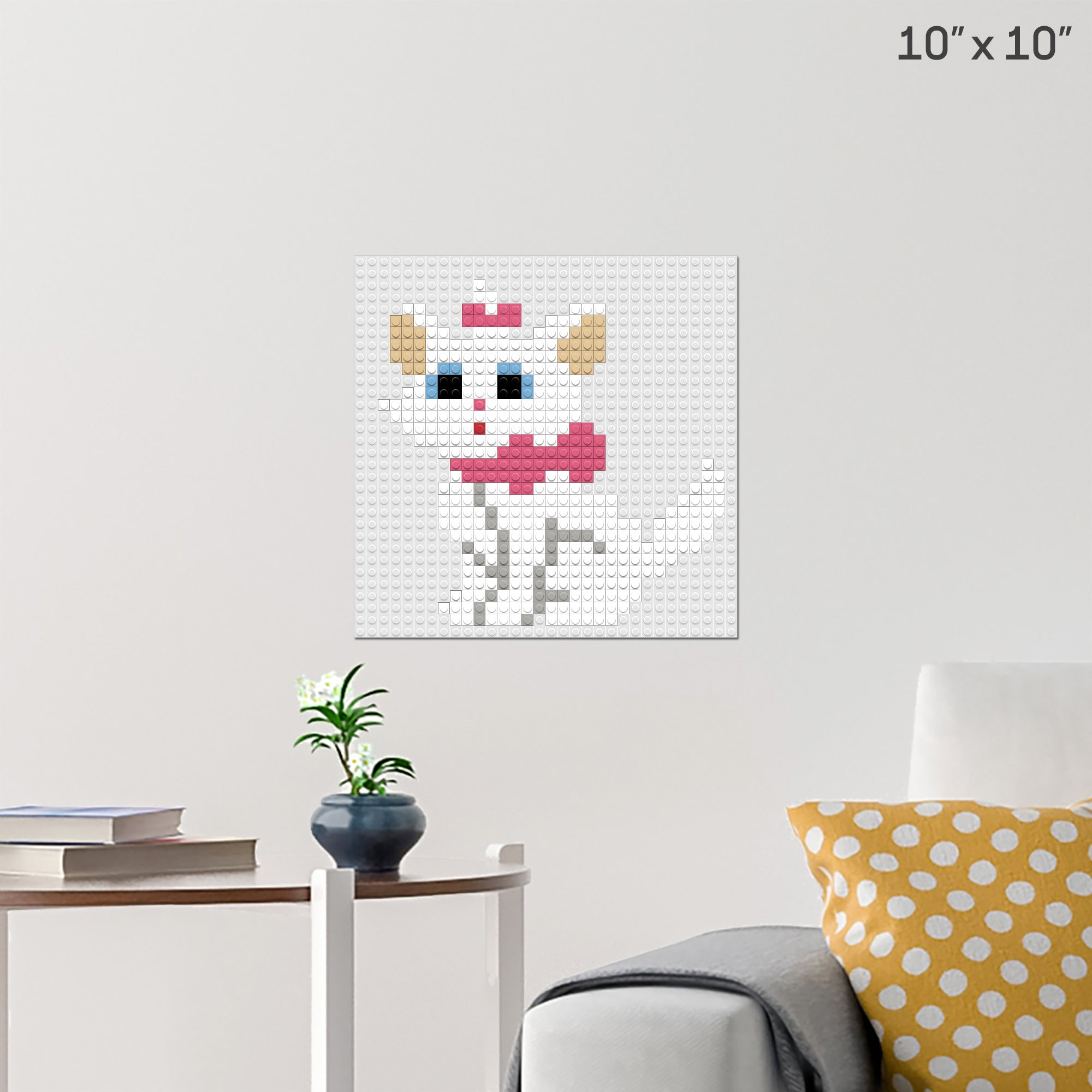 Marie Pixel Art Wall Poster Build Your