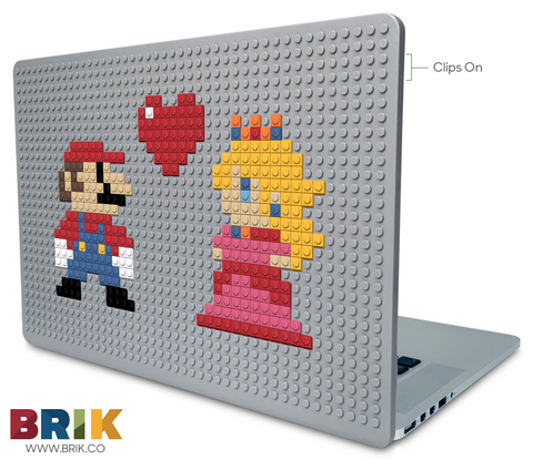 Mario and Princess Love Laptop Case
