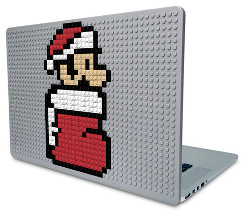 Mario Christmas Laptop Case