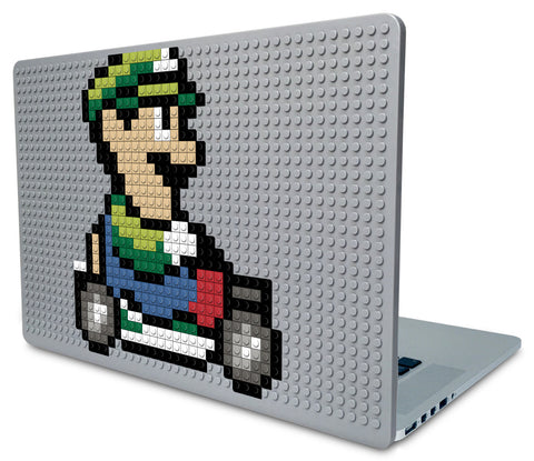 Mario Kart Luigi Laptop Case