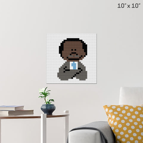 Martin Luther King Jr. Day Brick Poster