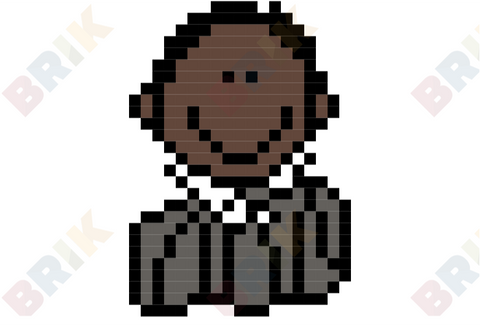 Martin Luther King Jr. Day Pixel Art