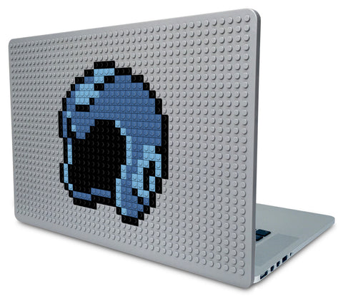 Mega Man Helmet Laptop Case