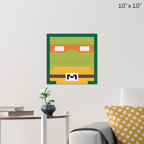 Mikey Brick Poster