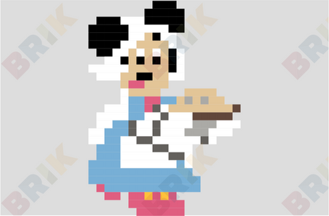 Minnie Pixel Art