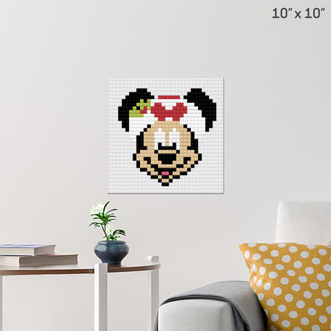 Minnie Brick Poster