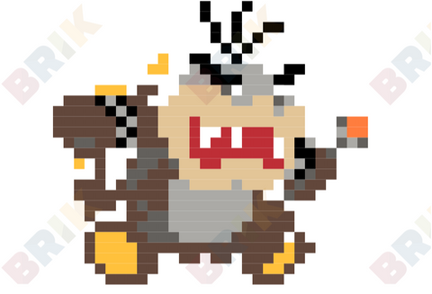Morton Koopa Jr. Pixel Art