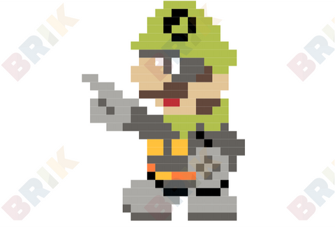 Mr. L Pixel Art