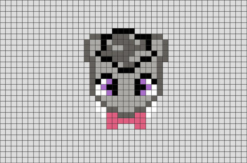 My Little Pony Octavia Pixel Art