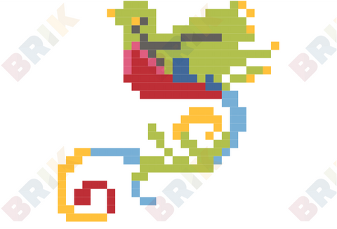 National Bird Day Pixel Art