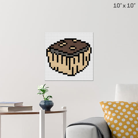 National Brownie  Day Brick Poster