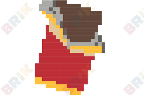 National Chocolate Day Pixel Art