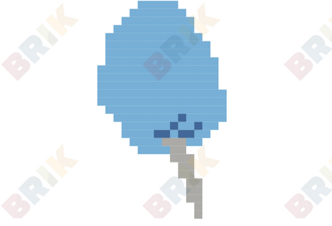 National Cotton Candy Day Pixel Art