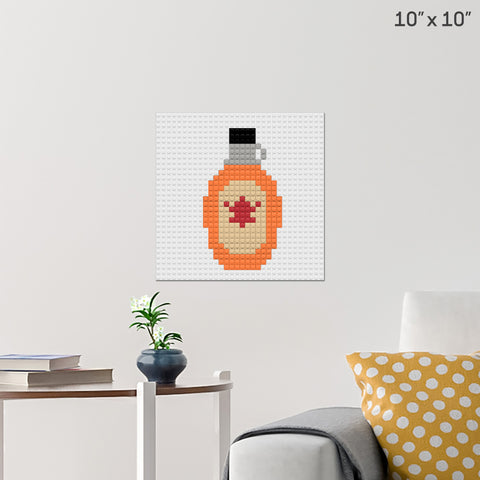 National Maple Syrup Day Brick Poster