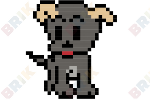 National Mutt Day Pixel Art