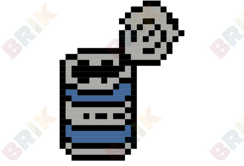 National Tin Can Day Pixel Art