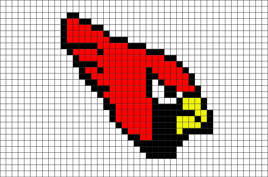 Nfl Arizona Cardinals Pixel Art Brik