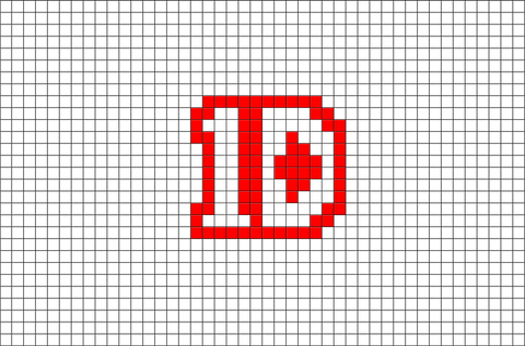 One Direction Pixel Art