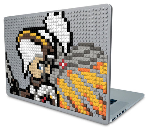 Overwatch Mercy Laptop Case